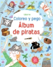 Álbum de piratas. Coloreo y pego